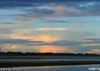 奇景 哈尔滨天空出现巨型蘑菇状云彩
