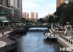 哈尔滨:马家沟河风景如画  清澈水流可以见底