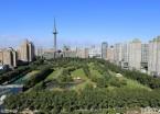 哈尔滨湘江公园正式开放 游人如织(组图)