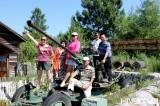 黑河:中俄民族风情园夏日旅游升温 游客纷至沓来