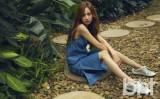 林恩京拍时尚写真 双眸晶莹靓丽迷人