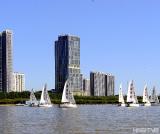 中国北疆内陆地区首次举办中俄友好城市帆船赛