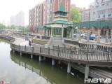 黑龙江哈尔滨:俄罗斯河园景色优美 吸引众多市民(组图)