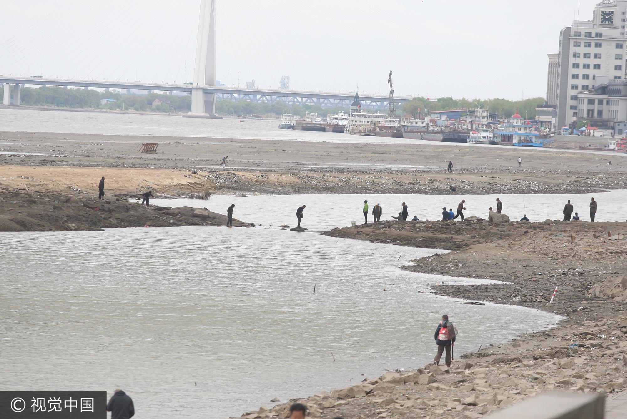 哈尔滨:松花江水位持续下降