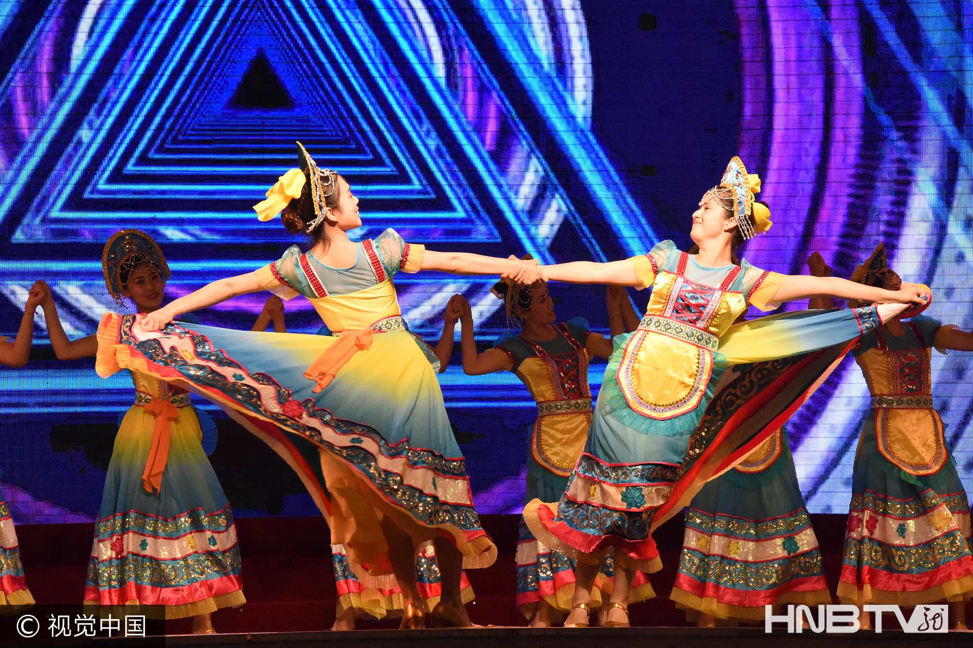 逊克县第二十届红玛瑙艺术节开幕 喜迎十九大(组图)