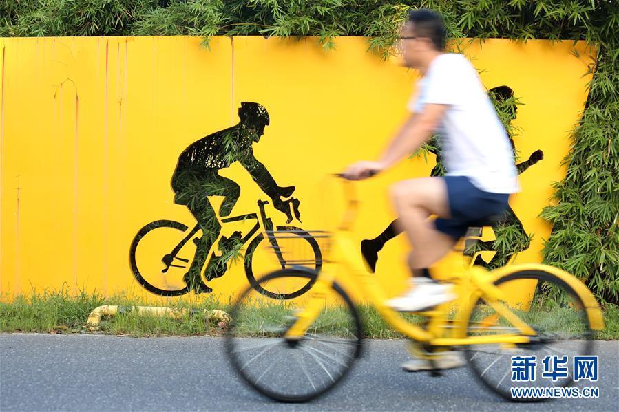 世界骑行日:绿色出行 低碳生活