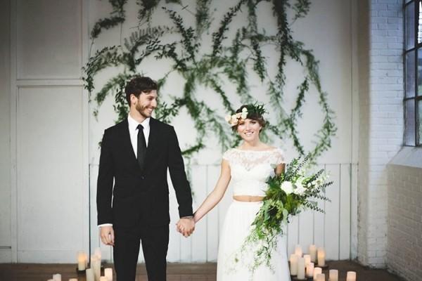 别致现代婚礼 创造难忘最美回忆