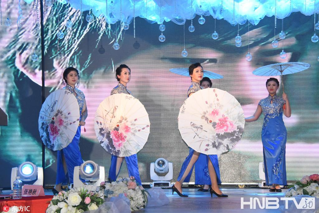 黑龙江黑河:爱辉区总工会举办职工服饰大赛 喜迎十九大