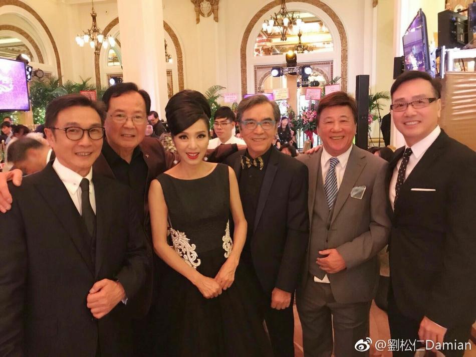 回忆杀!米雪刘松仁姜大卫胡定欣等TVB演员齐聚