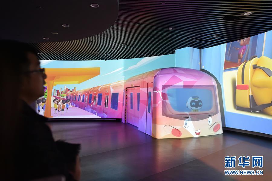 乘坐有轨电车 游览广州地铁博物馆