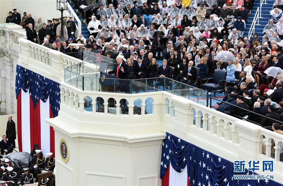 特朗普就任美国总统一周年