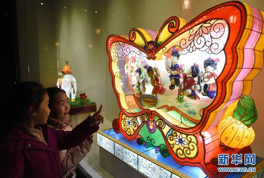 """""""中国灯彩之窗""""巡回展在河北邯郸举办"""