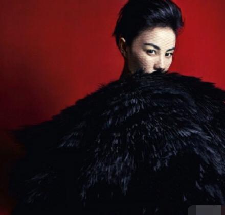 王菲最新杂志封面曝光,一如既往彰显高冷女神范