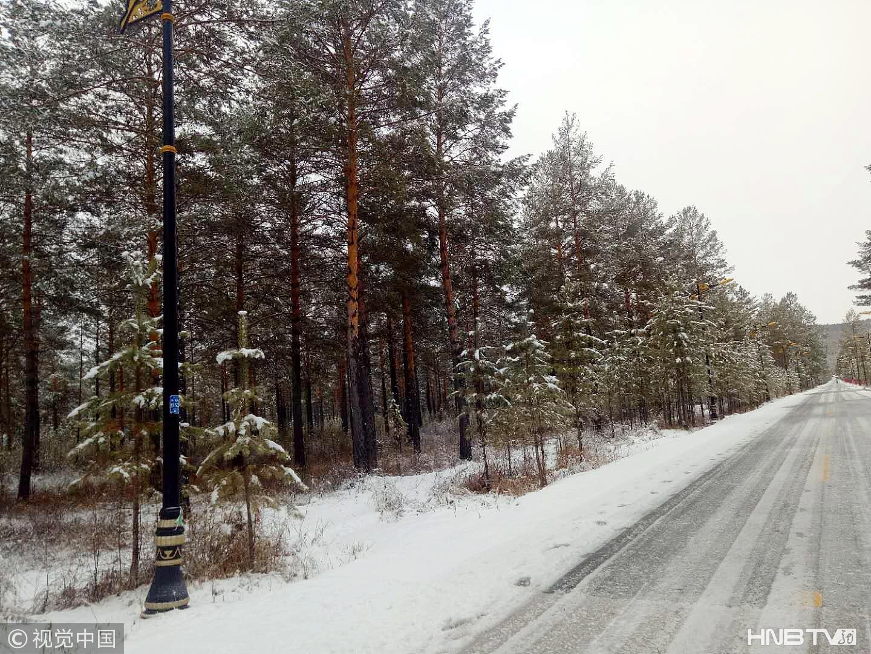 漠河:神州北极迎来降雪天气,美景难得(组图)
