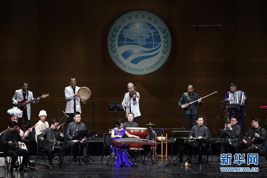 上海合作组织成员国艺术节在京开幕