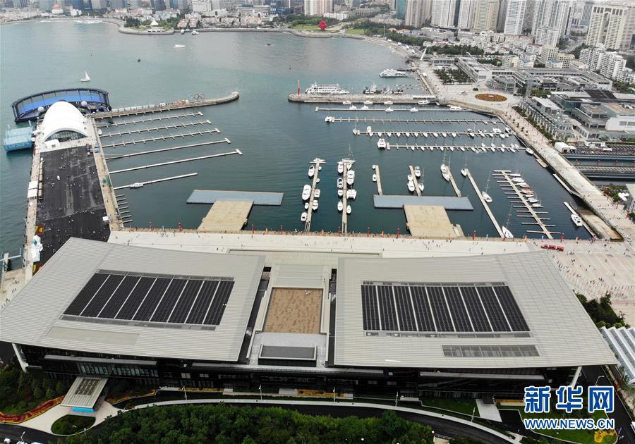 上合青岛峰会主会场对外开放