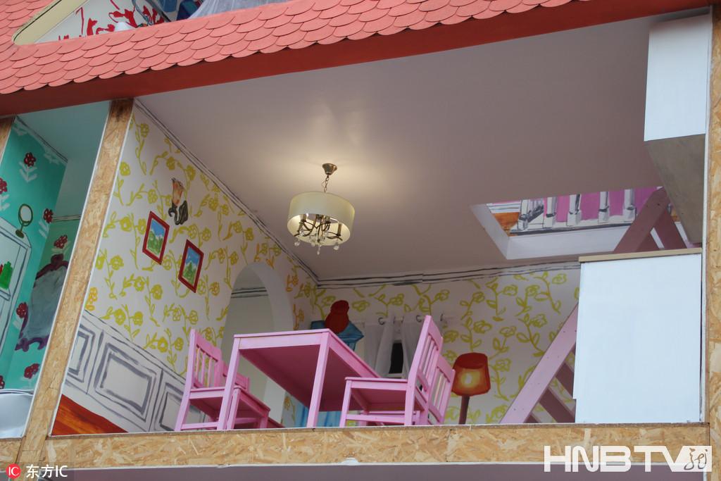 少女心爆棚!法国东京宫现实体大小玩具屋
