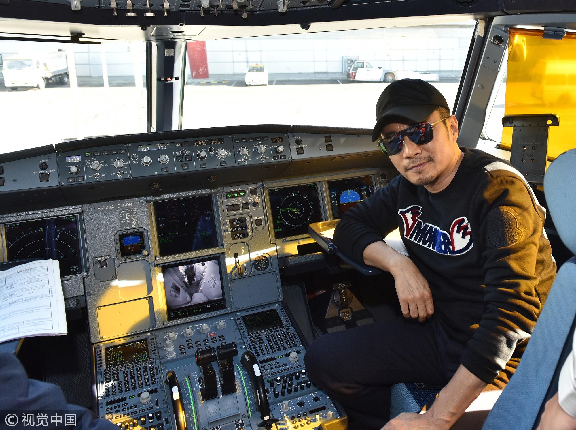 硬汉张涵予出演《中国机长》 变身最帅机长还原川航英雄