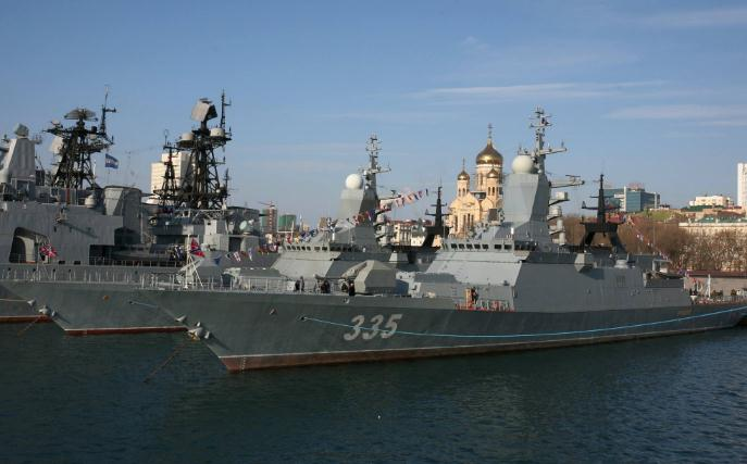 俄罗斯最新护卫舰正式入役 加入太平洋舰队