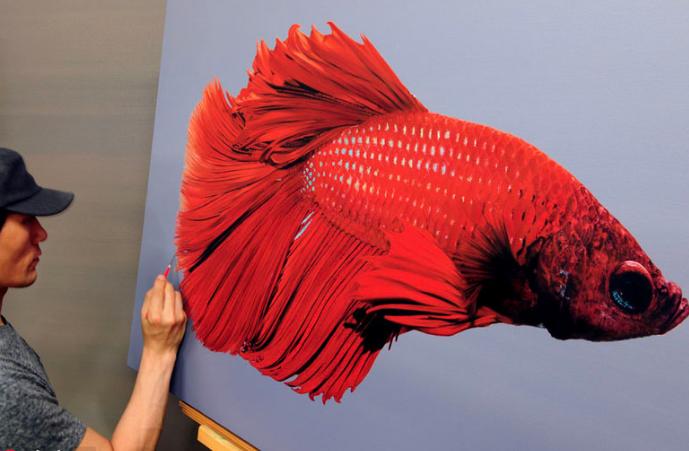 惊艳绝伦!韩国艺术家创造超现实主义3D画