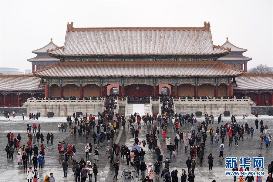 雪落紫禁城(组图)