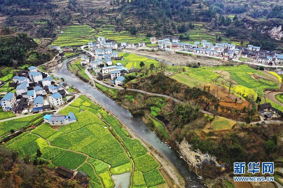 俯瞰贵州乡村美景(组图)