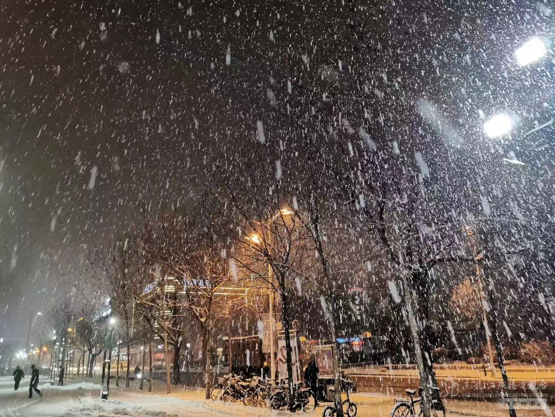 雪落•哈尔滨