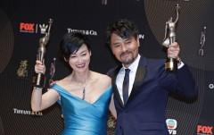 第36届香港电影金像奖影帝影后合影