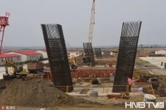 中俄界江黑龙江大桥中方工程稳步推进