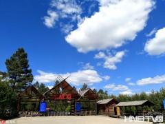 漠河:神州北极迎旅游旺季 避暑胜地蓝天白云醉游人
