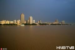 第二松花江洪峰顺利通过哈尔滨 松花江水位涨幅不大