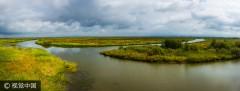 黑龙江饶河:三江湿地千鸟湖湿地风光