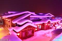 """走进""""中国雪乡""""  探访冬日里的童话世界(组图)"""