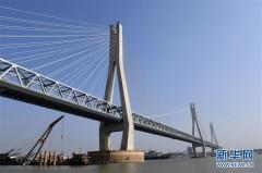 蒙华铁路洞庭湖特大桥主桥工程进入收尾阶段