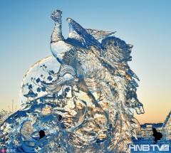 水晶之恋 北国冰雕艺术精美绝伦