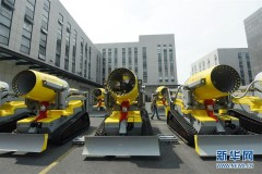 浙江杭州:新型消防机器人交付使用