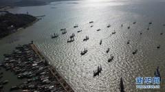 太湖渔民喜迎开捕节
