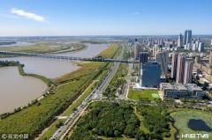 航拍哈尔滨新区 环境优美景色秀丽(组图)