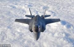 美英法空军举行空战演习 F-35B参演