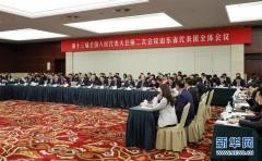 山东代表团全体会议向媒体开放