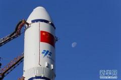 天舟一号货运飞船4月20日至24日择机发射 已垂直转运至发射区