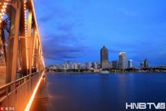 哈尔滨:松花江水位连续上涨 江景秀美无限