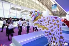 舞狮机器人中俄博览会