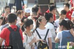 哈尔滨近六万考生参加中考