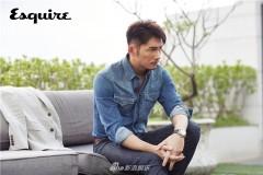 温升豪最新杂志大片曝光 多变造型诠释成熟男人魅力