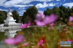 西藏佛学院三期工程竣工