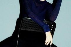 Angelababy时尚大片玩转复古潮流 炫酷又甜美