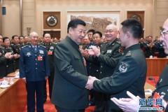 习近平出席解放军和武警部队代表团全体会议 (组图)