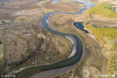 鸡西穆棱河的春天 绚丽美景如诗如画(组图)