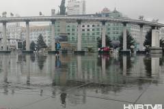 哈尔滨持续降雨 气温明显下降 (组图)